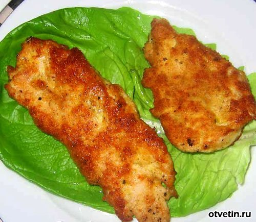 Филе курицы сухарях рецепт с фото