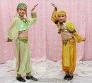 Детские сценические костюмы для восточных танцев.