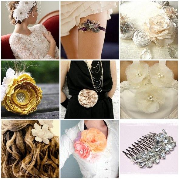Свадебные украшения своими руками