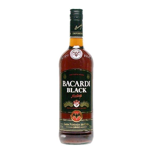 Испанский ром Бакарди Блэк Bacardi Black.