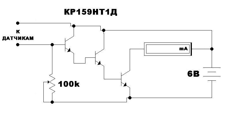 Детектор лжи на КР159НТ1