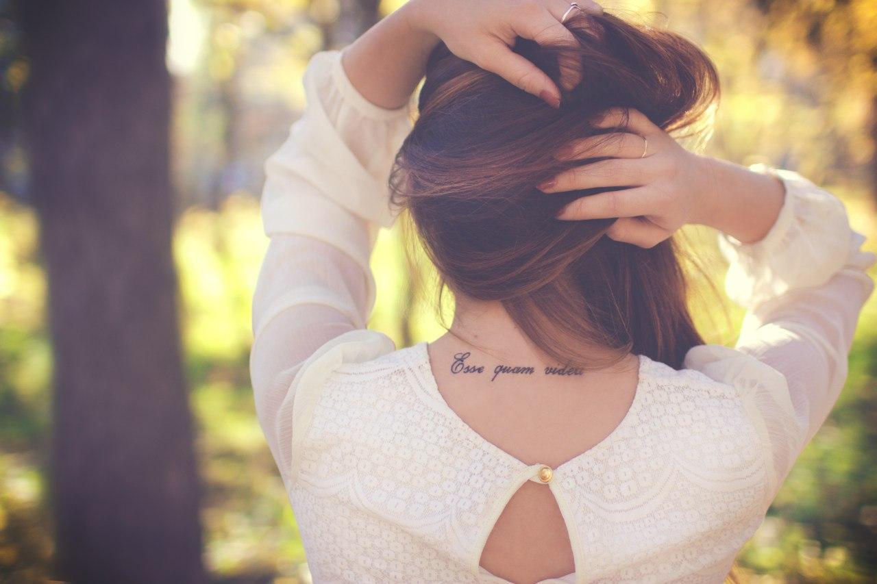 Места для татуировок у девушек фото