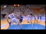 Vassilis Spanoulis' dribble & amazing and-1 play!