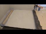 Гидроизоляция душевого поддона из плитки. Часть 1