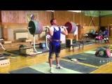 Ловчев Алексей,  толчок 230 кг!