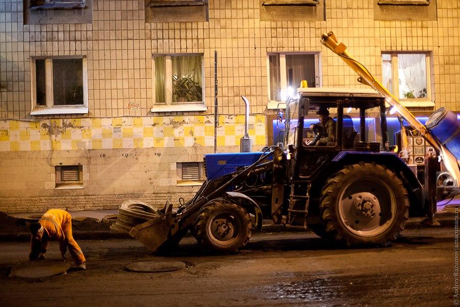 ремонт дорог в санкт-петербурге в 2012