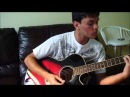 Pink Floyd - Another Brick In The Wall Acoustic Guitar Cover (With Solos)