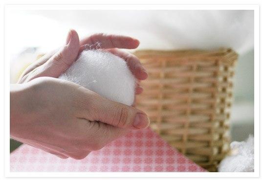 Как сделать снежки своими руками из ваты