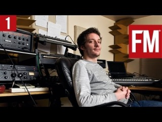 Alex Metric In The Studio With Future Music Part 1