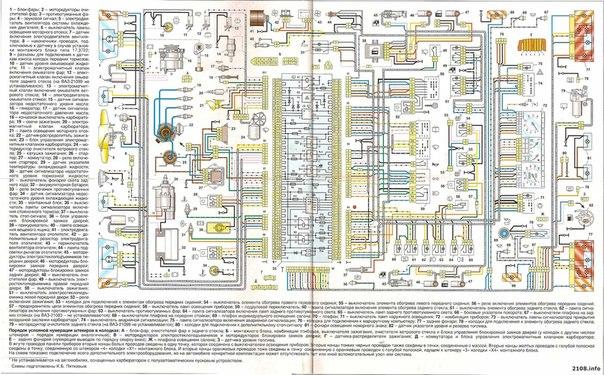Электросхема ваз 2112 схема