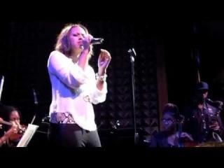 Sasha Allen @ Joe's Pub 8-27-12 Whitney Houston Mini Concert