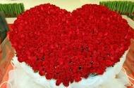 любовь нежность цветы розы сердце
