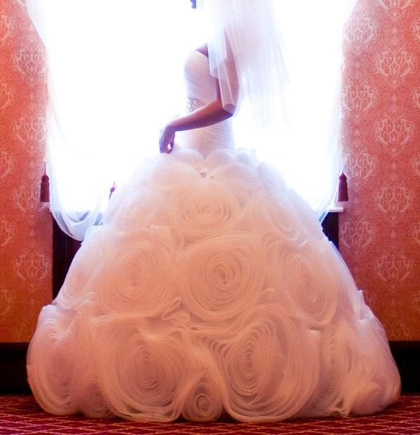 Красивый корсет свадебного платья 55