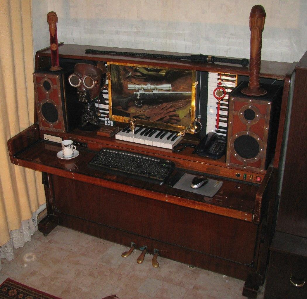 Разбор пианино своими руками