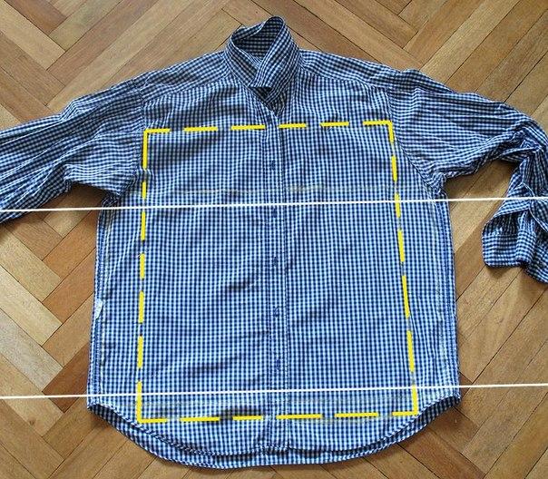 Оригинальная рубашка своими руками