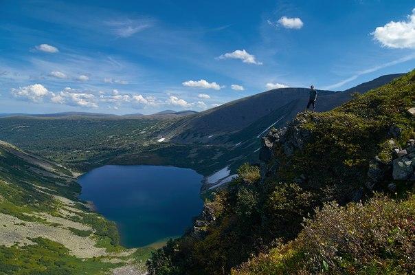 Кузнецкий Алатау, озеро Хунухузух..