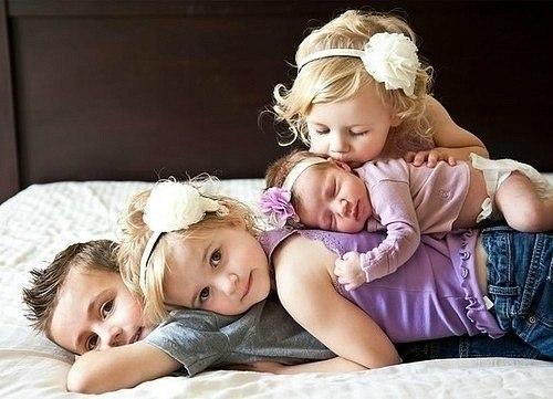 Любви рождаются красивые дети