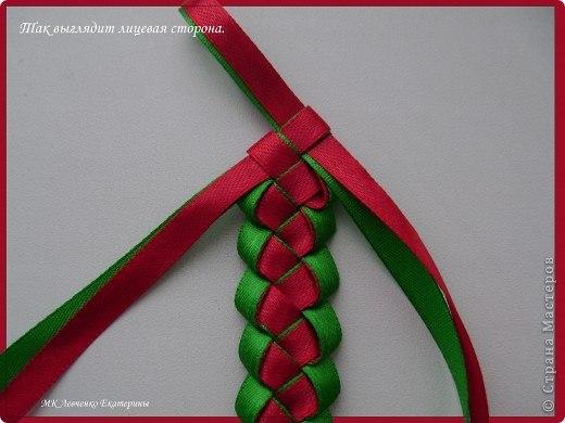 плетенка для ободка канзаши