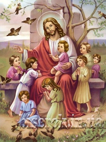 Схема для вишивки бісером Ісус