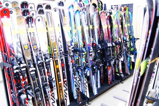 горные лыжи купить