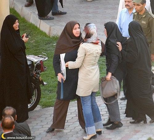 чья одежда не соответствует нормам ислама, сообщают