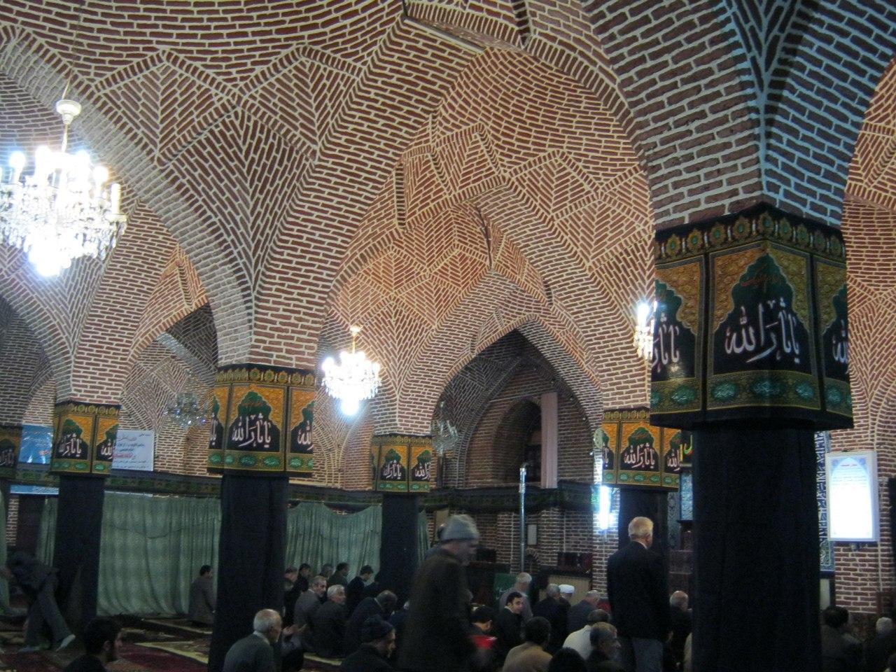 женское отделение в мечети