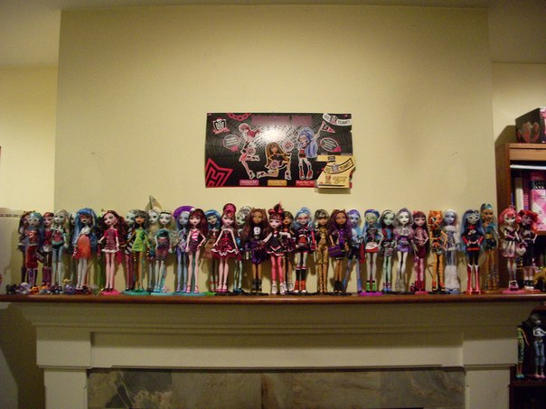 Re monster high фото наших кукол сообщение