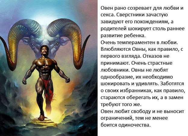 Овен гороскоп на завтра для мужчин и женщин