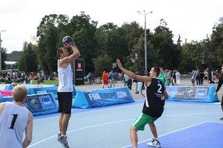 Финал Кубка России по уличному баскетболу