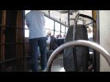 В салоне автобуса Ikarus-280.33 № 191 г. Рыбинск
