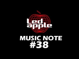 Avicii - Wake me up By Hanbyul of Led apple Music note #38/50