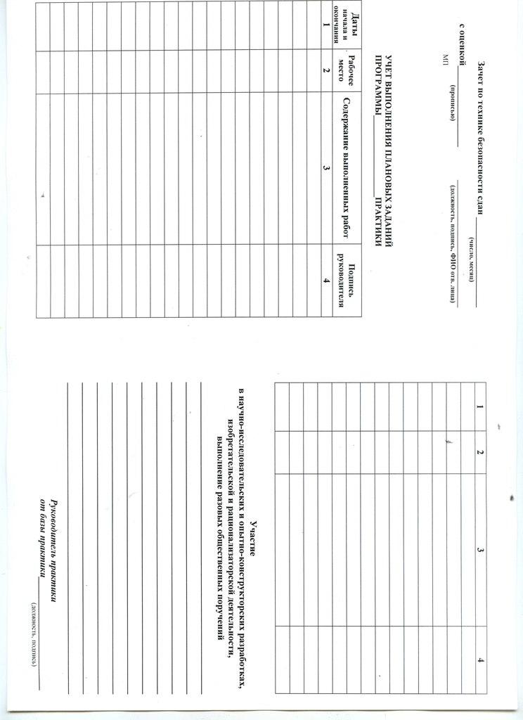 Практика Бланк направления задания и отчета на производственную практику 1 стр и