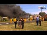 Жителей Австралии эвакуируют из-за лесных пожаров