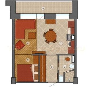 Дизайн проект типовой квартиры