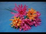 Хризантема для букета из конфет своими руками (видео мастер-класс) [zhezelru]