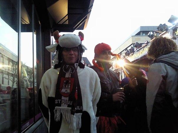 Carnival in Mainz on the Rhine Helau Anastasia from Germany