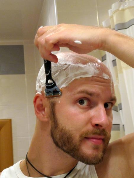 Если брить голову волосы станут гуще