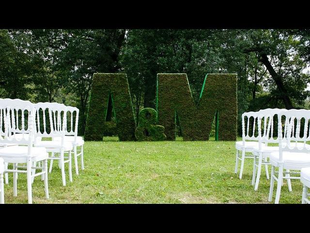 Art Jam. История создания свадьбы в английском стиле.