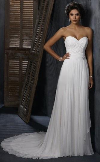 Греческие свадебные платья (империя, ампир)