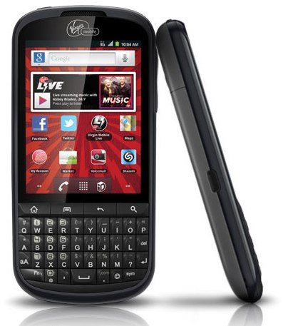 ZTE Venture: Android-смартфон с QWERTY клавиатурой