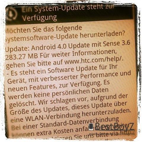 Смартфоны HTC Sensation и XE начали получать Android 4.0
