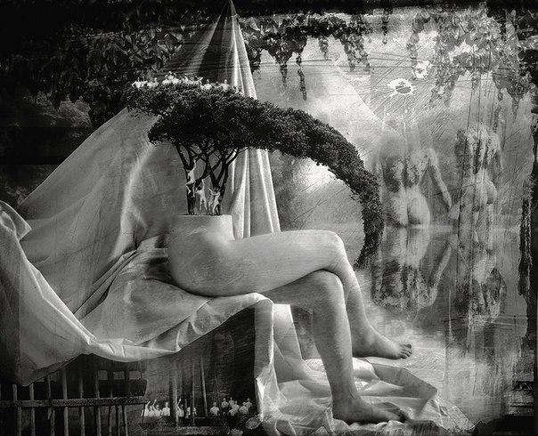 Готические фото Алессандро Бавари, Коллажи Алессандро Бавари (Alessandro— Фото № 1