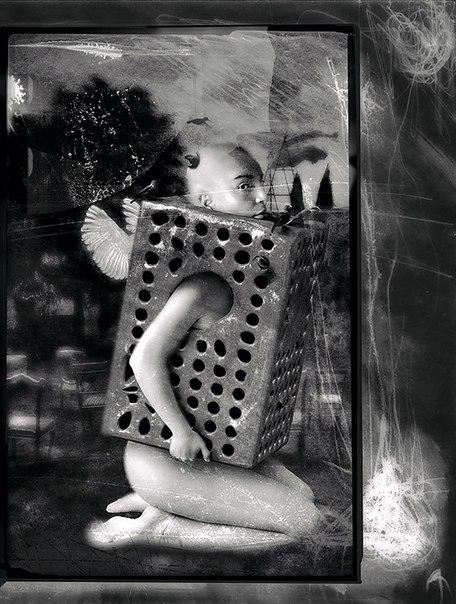 Готические фото Алессандро Бавари, Коллажи Алессандро Бавари (Alessandro— Фото № 4