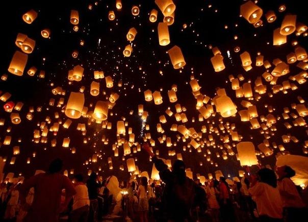 Я думаю мало кого интересуют небесные фонарики, хотя да и попросту...