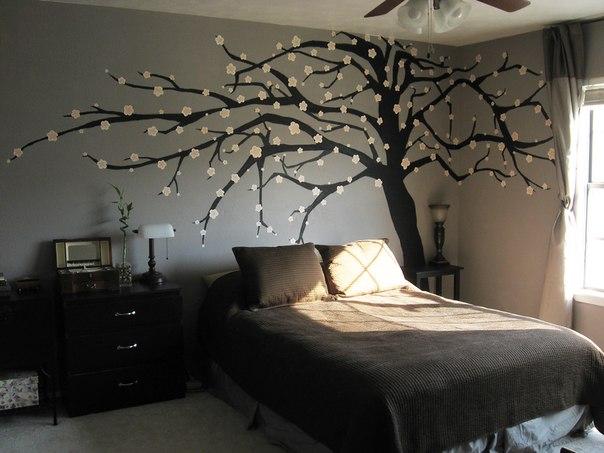 [Дерево в спальню своими руками