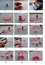 Как сделать бантик из пластики.