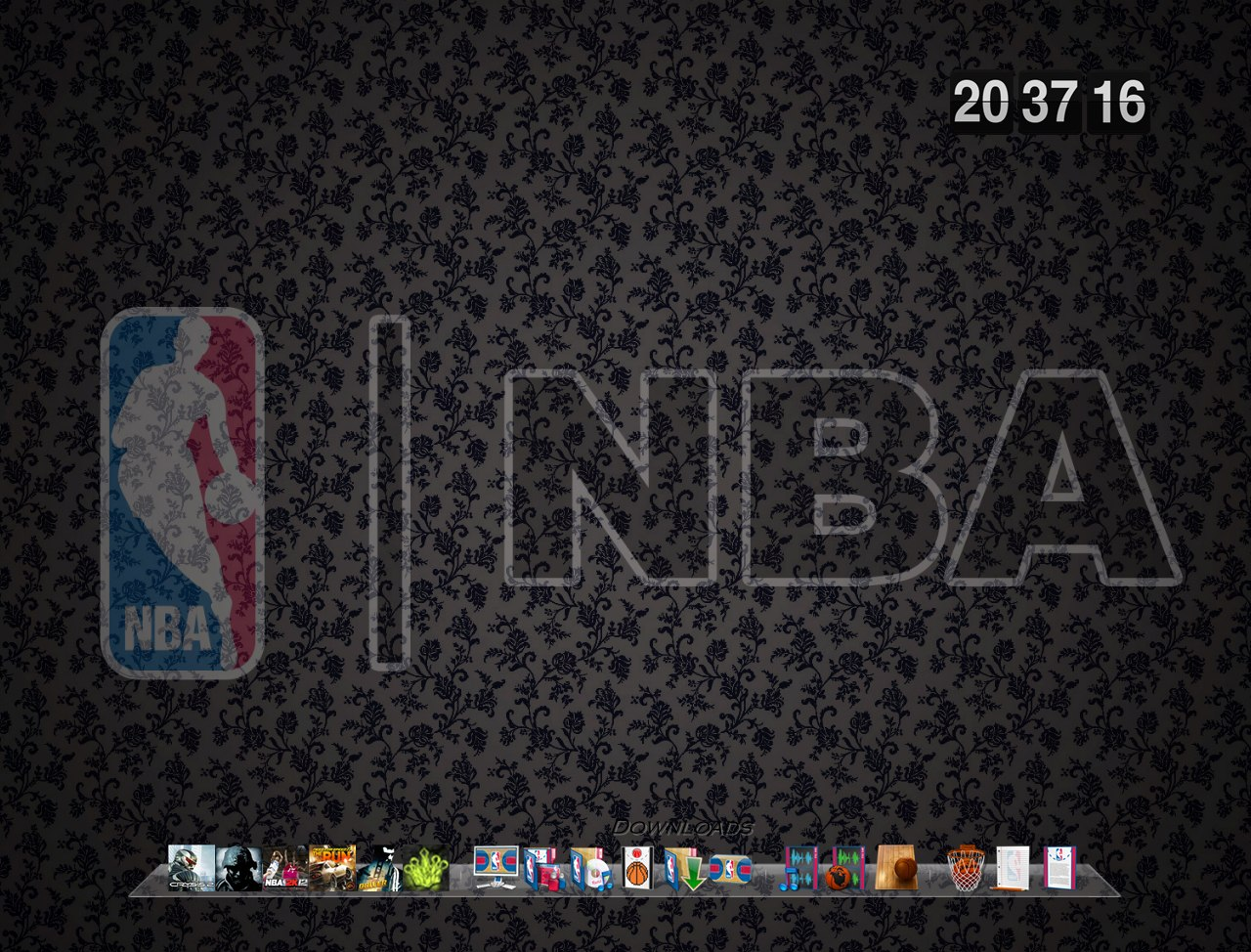 RocketDock NBA by TopNotchHipHop.com Background