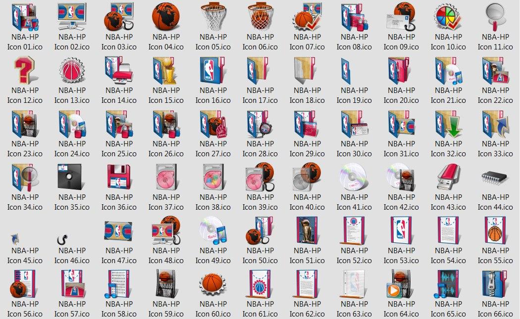 иконки НБА 2012
