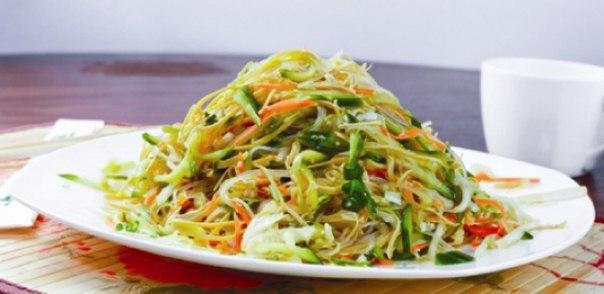 Домашний салат китайский рецепт с