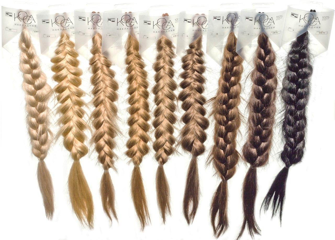 Картинки коса на длинные волосы - 7